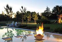 Piscina / Swimming pool / Piscinas y jardines de casas argentinas, realizadas por diversos estudios de arquitectura. Inspirate, soñá tu casa y conectate con tu futuro arquitecto a través de www.portaldearquitectos.com