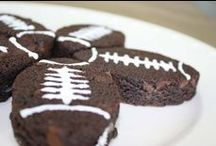 Superbowl Favorites! / Sweet, savory and cocktail recipes for your Playoff and Superbowl parties - would be great for any sports-related event though!