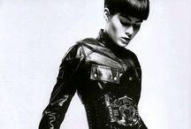 Leather...  / Moodboard | inspiration | design | fashion