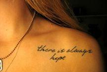 Tattoos I want / by MaddieSun