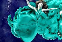 Under the sea... / Inspiration / moodboards / fashion / haircuts / styling / makeup / more..