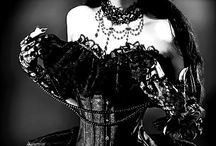 Gothic Look... / Inspiration / moodboards / fashion / haircuts / styling / makeup / more..