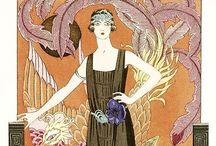 Art Deco... / Inspiration / moodboards / fashion / haircuts / styling / makeup / more..