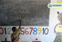 """Mettici la firma: il tuo 5x1000 a HUMANA! / Devolvi il 5x1000 della tua dichiarazione dei redditi a HUMANA.  Puoi dare un'opportunità agli orfani ed ex bambini di strada del Centro """"La Città dei Bambini """" di Maputo, in Mozambico.   Grazie a te, riceveranno cure, cibo e istruzione. Cosa aspetti, #metticilafirma anche tu! CODICE FISCALE 93524700155"""