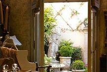 Courtyards & Gardens