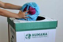 Ecobox di HUMANA. da oggi donare i tuoi abiti usati è ancora più facile! / Solidale, Fashion, Smart!