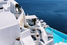 Blue and White / Greece  / by Monica Guirguis (Elmashat)