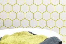 Optical / Geometric tiles to create optical illusions