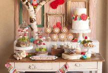 Sweet dessert table