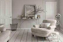 White on white / All white decor inspo