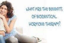 Hormone Therapy / Benefits and information about Bio Identical Hormone Therapy.