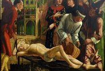 Renaissance in het Noorden ~ Michael Pacher / ca. 1435 Bruneck - 1498 Salzburg. Ook houtsnijder.