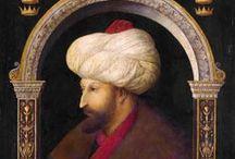 Vroege Renaissance ~ Gentile Bellini / ca. 1429 Venetië - 1507 Venetië. Opgeleid door zijn vader Jacopo Bellini.