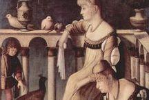 Hoge Renaissance ~ Vittorio Carpaccio / ca. 1465 Venetië? - 1525 of 1526 Venetië. Waarschijnlijk opgeleid door Gentile Bellini.