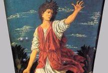 Vroege Renaissance ~ Andrea del Castagno / ca. 1422 Castagno - 1457 Florence. Leerling van Paolo Schiavo.