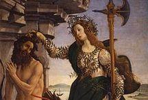 Vroege Renaissance ~ Sandro Botticelli / 1445 Florence - 1510 Florence. Leerling van Fra Filippo Lippi.