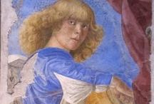 Vroege Renaissance ~ Melozzo da Forlì / 1438 Forli - 1494 Forli. Leerling van Ansuino da Forli.