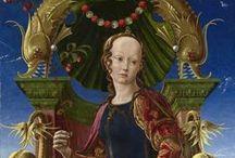Vroege Renaissance ~ Cosmé Tura / Eigenlijk Cosimo Tura. ca. 1450  Ferrara - 1495 Ferrara. 1456 hofschilder van de familie Este.