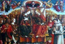 Vroege Renaissance ~ Carlo Crivelli / ca. 1433 Venetië - ca. 1495 Venetië. Broer van de schilder Vittorio Crivelli.