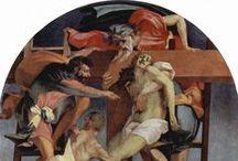 Maniërisme ~ Rosso Fiorentino / Giovanni Battista di Jacopo (8 maart 1495 Florence - 24 november 1540 Florence) ~ Leerling van Andrea del Sarto