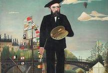 Symbolisme ~ Henri Rousseau / Henri-Julien-Félix Rousseau ~ 21 mei 1844 Laval - 2 september 1910 Parijs ~ Autodidact