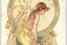 Art Nouveau / Amazing Art Nouveau Inspiration. You find the art nouveau pins I like at this board.