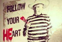 INSPIRATION spontane kunst? street art / land art