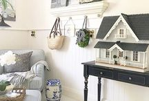 Villa de Luxe Dollhouses / Having fun renovating and decorating dollhouses! 1:12 scale | Instagram @villadeluxe_dollhouse