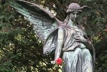 """Angels Among Us / """"Make yourself familiar with the angels and behold them frequently in spirit; for without being seen, they are present with you.""""   St. Francis de Sales   / by Linda S"""