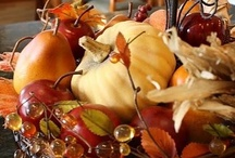 """Autumn Pleasures / """"Delicious Autumn! My very soul is wedded to it, and if I was a bird I would fly about the earth seeking successive autumns."""" George Eliot / by Linda S"""