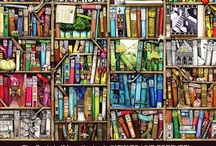 """""""I cannot live without books!"""" / Thomas Jefferson  / by Linda S"""