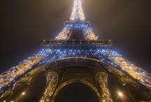 """Paris on a Whim! / """"There are only two places in the world where we can live happy: at home and in Paris."""" Ernest Hemingway / by Linda S"""