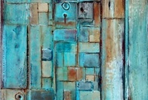 """Shades of Teal / """"The best color in the whole world, is the one that looks good, on you!"""" Coco Chanel     / by Linda S"""