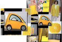Yellow Color Direction / Yellow color direction and inspiration.