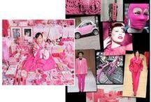 Pink Color Direction / Pink color direction and inspiration.