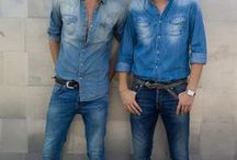 Men's Denim Inspiration / Men's denim details and inspiration for every age or style.