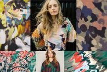 Camouflage Inspiration / Attention!! Camouflage pattern and graphic inspiration for men & women.