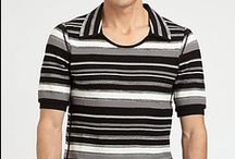 Striped Men's Tops / Get your stripe swag on with these striped men's tops.