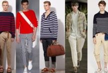 Stripe Inspiration / Up-to-the-minute stripe design & style inspiration for men and women.