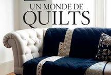 QUILTMANIA EDITIONS - books - Livres / QUILTMANIA est LA maison d'édition référence pour les livres et magazines sur le Patchwork; mais aussi organisateur du salon Pour l'Amour du Fil http://www.quiltmania.com/