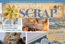 Carnets de Scrap / Pour toutes les passionnées de Scrapbooking, les curieuses et fans de style vintage. http://www.quiltmania.com/carnets-de-scrap.html