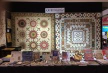 QUILTMANIA around the world / QUILTMANIA stands around the world, events, trade fairs, Quilt exhibitions...