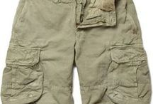 Men's Chinos & Cargos / Men's chino & cargo pant and short design and style inspiration.