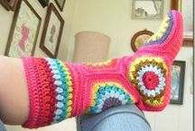 MEDIAS-ZAPAS / by Crochet Compartido