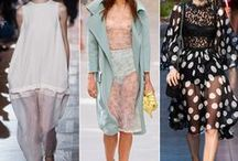 Sheer Delight! / Sheer styling and fashion direction and inspiration.