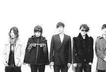 K BigBang - Top.  G-Dragon. Taeyang. Daesung. Seungri.