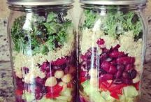 Food in Jars / Make food fun by eating out of jars. Super easy and will not spill!
