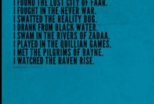 Pendragon series. / The merchant of death. The lost city of faar. The never war. The reality bug. Blackwater. The rivers of zaada. Quillan games. The pilgrims of rayne. Raven rise. Soldiers of halla.
