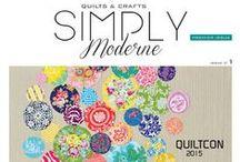 Simply Moderne #1 / http://www.quiltmania.fr/shop/fr/83-simply-moderne?quiltparams=simply_modern