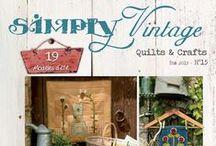Simply Vintage #15 / Simply Vintage Eté 2015 N°15 / Summer  http://www.quiltmania.com/simply-vintage-magazine.html